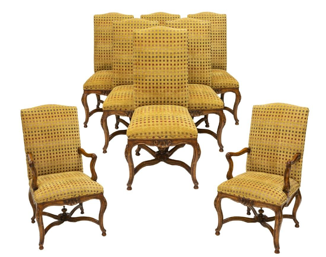 (8) MINTON-SPIDELL 'L'AVANT' DINING CHAIRS