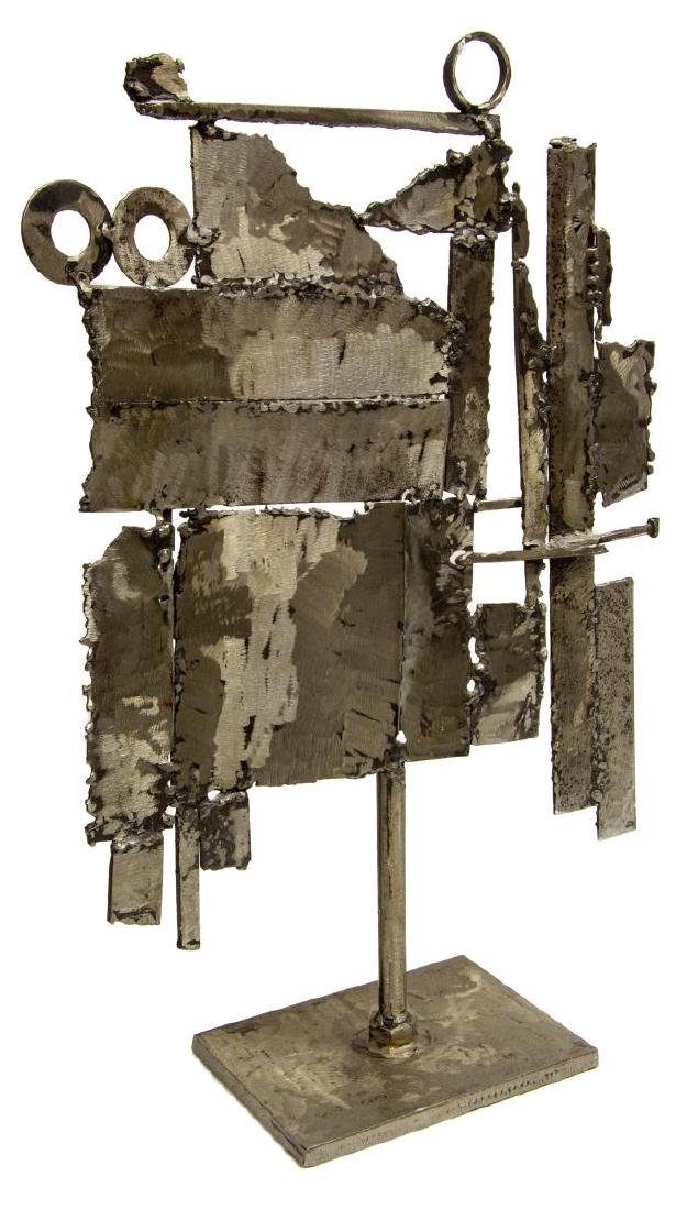 MODERNIST SATISH JOSHI ASSEMBLED STEEL SCULPTURE