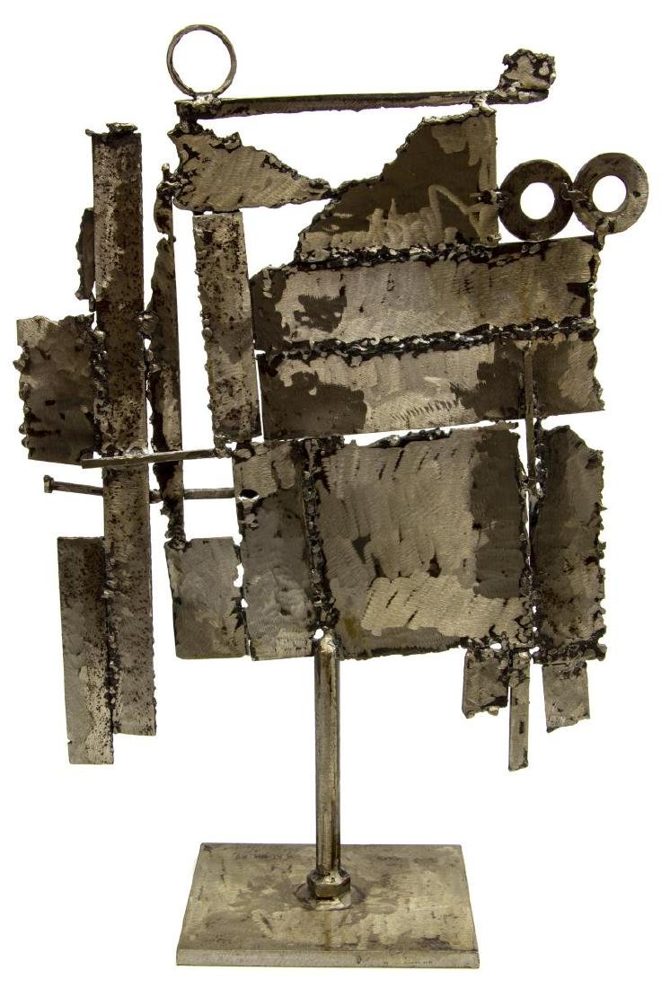 MODERNIST SATISH JOSHI ASSEMBLED STEEL SCULPTURE - 2