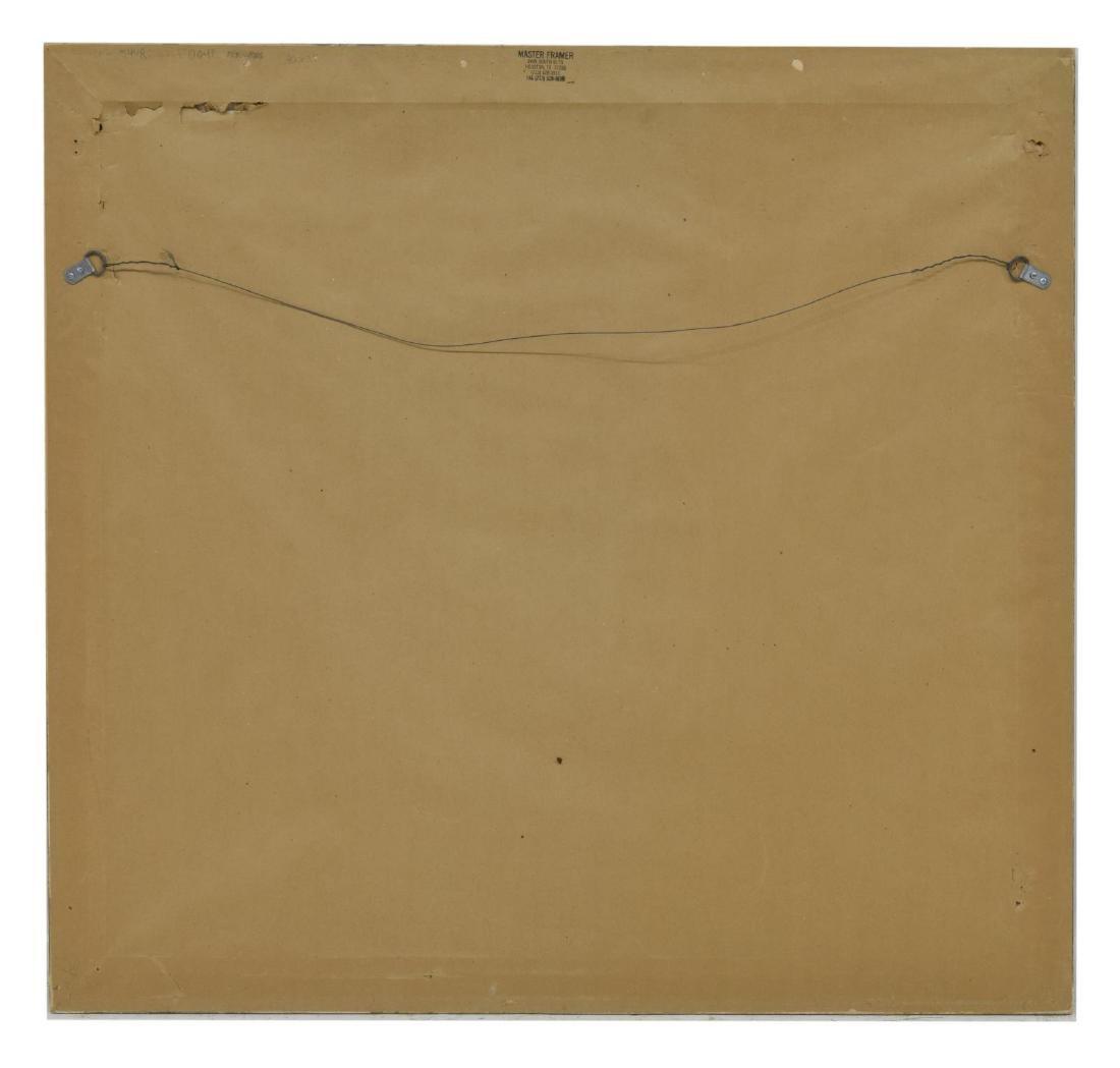 KNOX MARTIN (B.1923) FRAMED SIGNED ABSTRACT LITHO - 4