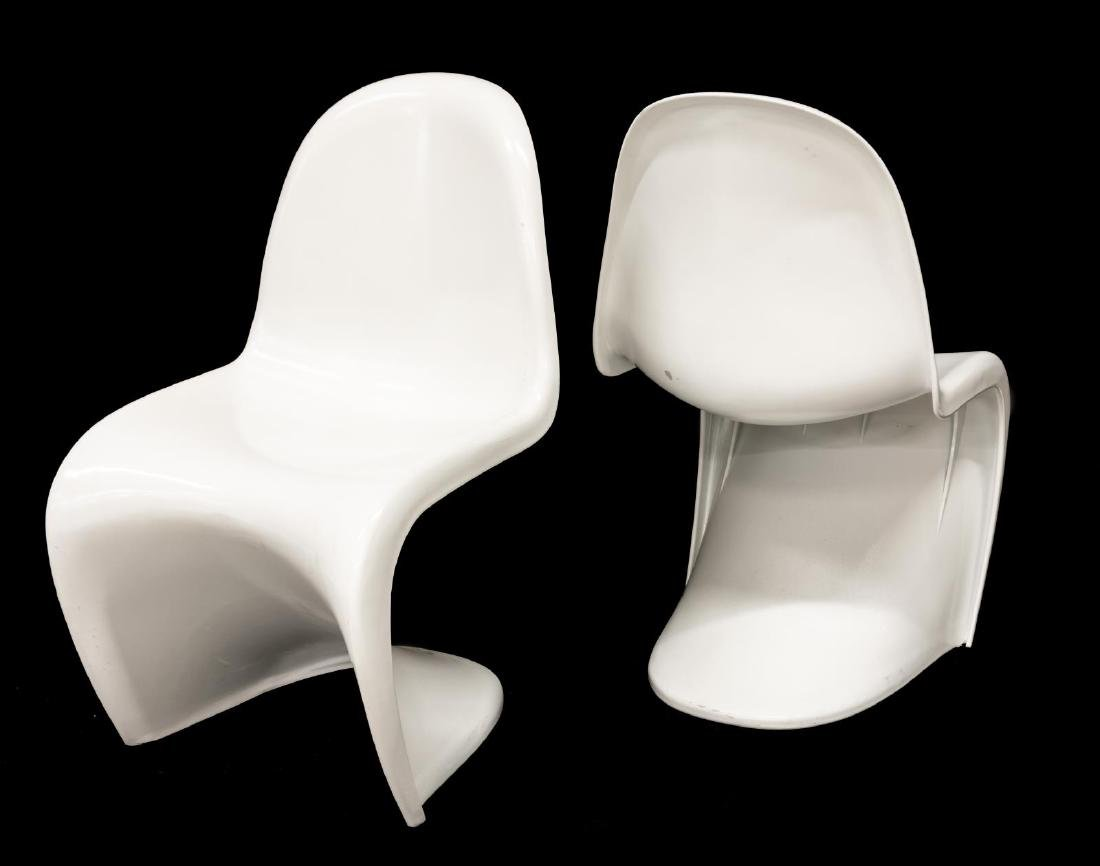 (6) MODERNIST CHAIRS STYLE OF VERNER PANTON - 2