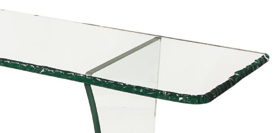 FRENCH MODERN DESIGN CRYSTAL CONSOLE TABLE - 2
