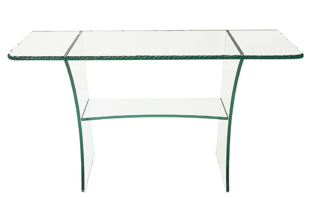 FRENCH MODERN DESIGN CRYSTAL CONSOLE TABLE - 3
