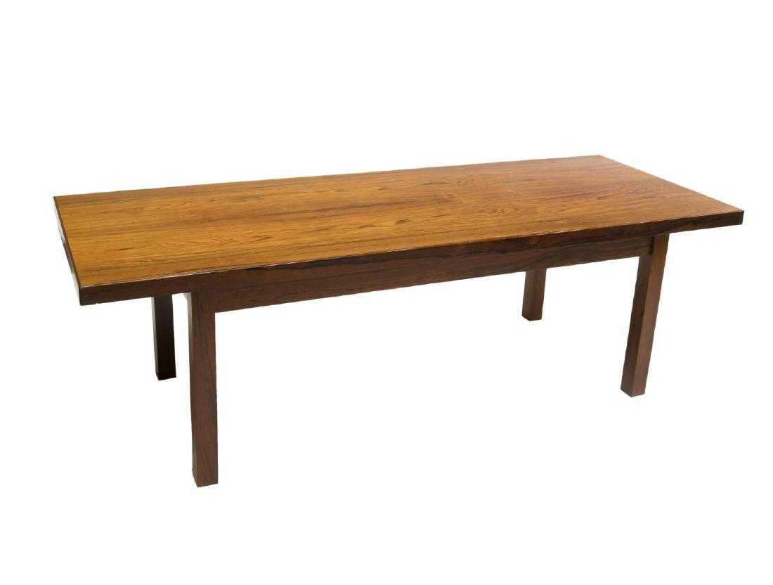 Danish Mid Century Modern Rosewood Coffee Table