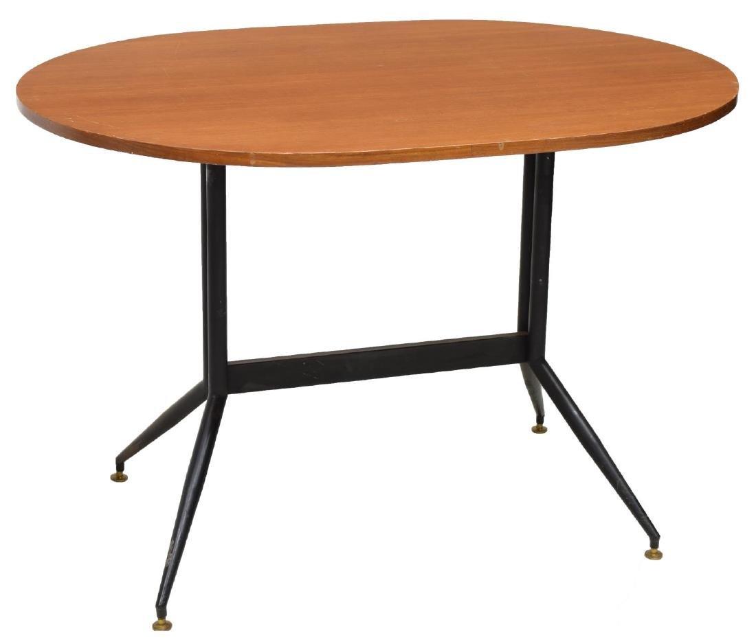 ITALIAN MID-CENTURY MODERN TEAK TABLE