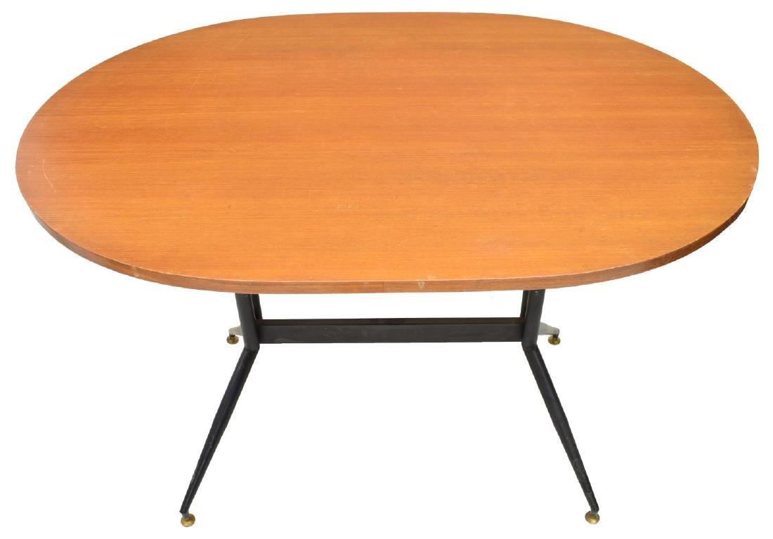 ITALIAN MID-CENTURY MODERN TEAK TABLE - 2