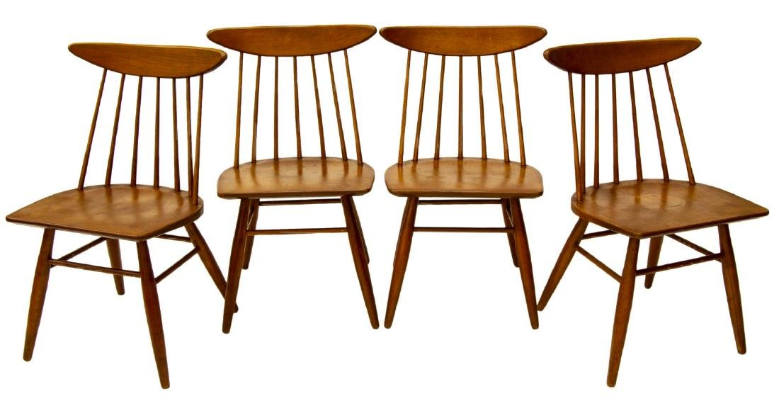 (4) RUSSELL WRIGHT, CONANT BALL 7462 CHAIRS