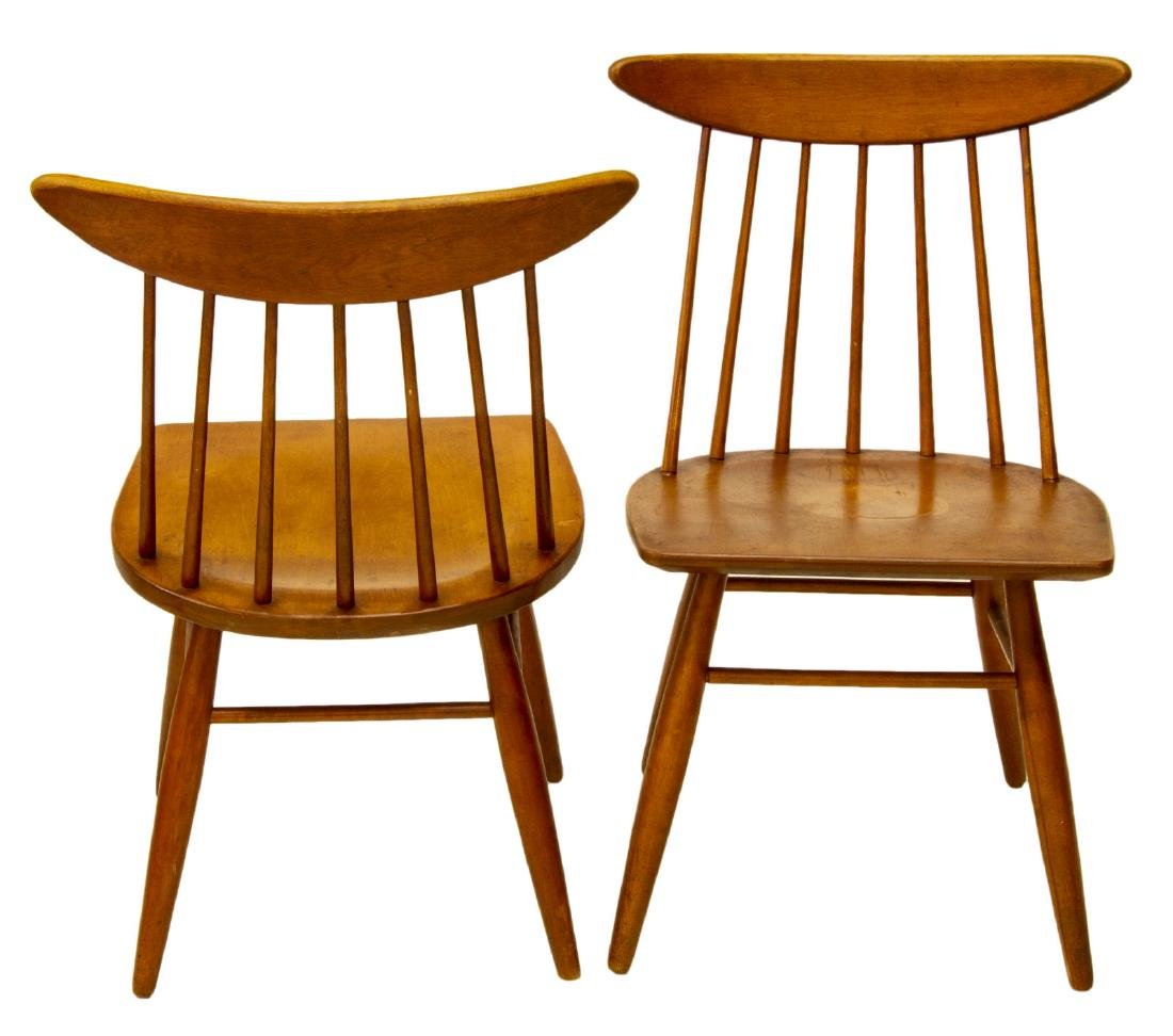 (4) RUSSELL WRIGHT, CONANT BALL 7462 CHAIRS - 2