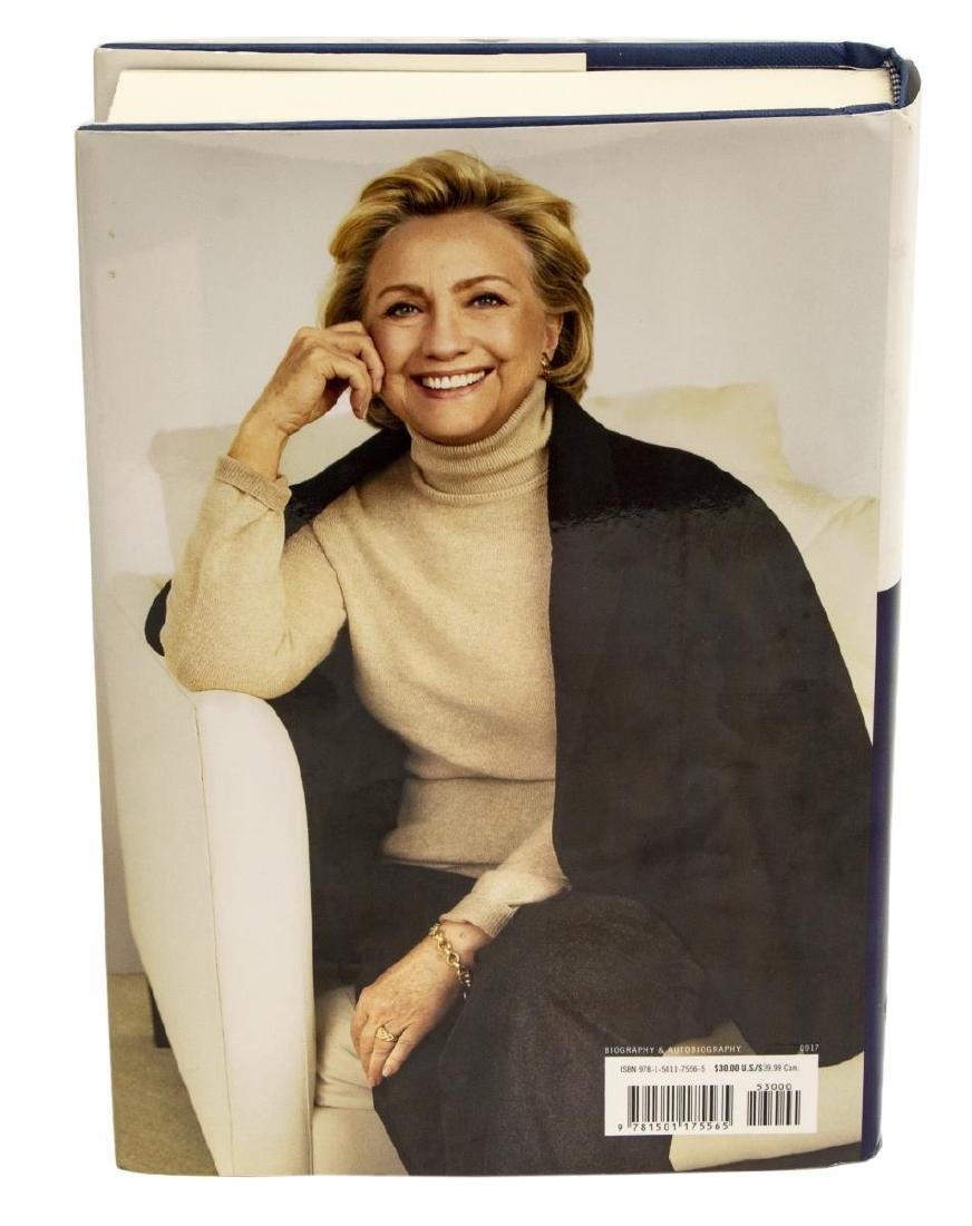"""AUTOGRAPHED BOOK, HILLARY CLINTON, """"WHAT HAPPENED"""" - 2"""