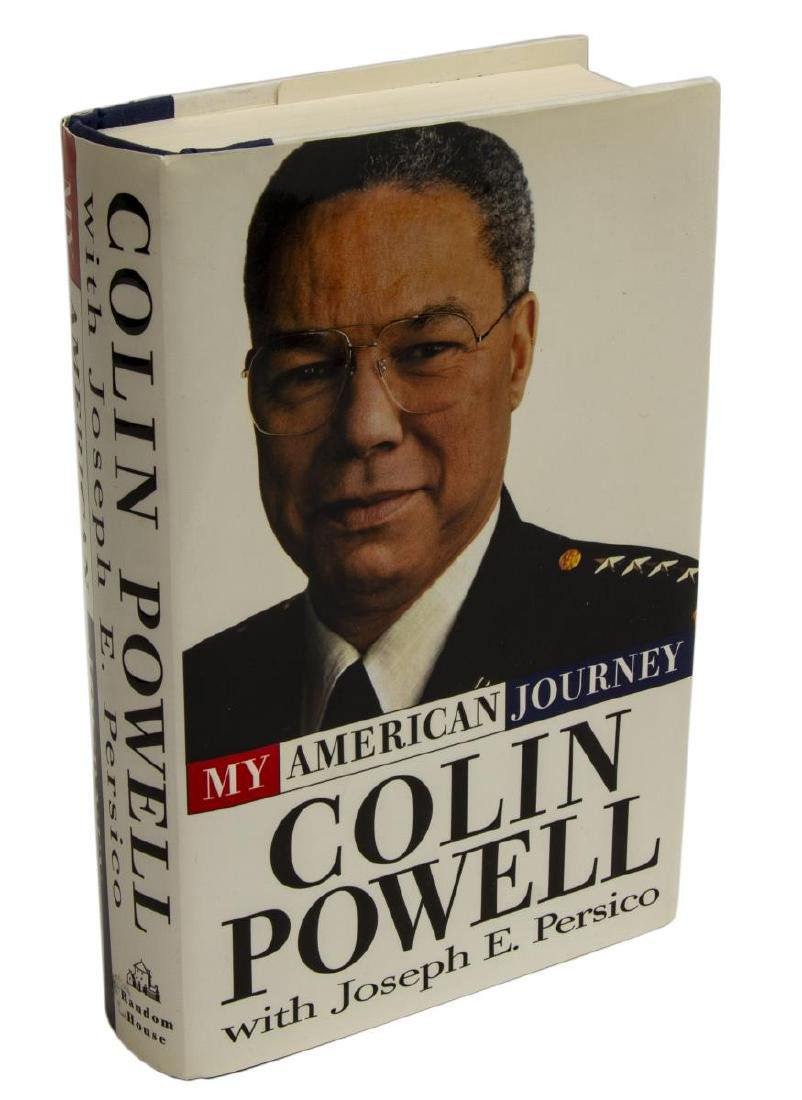 """COLIN POWELL SIGNED BOOK, """"MY AMERICAN JOURNEY"""""""