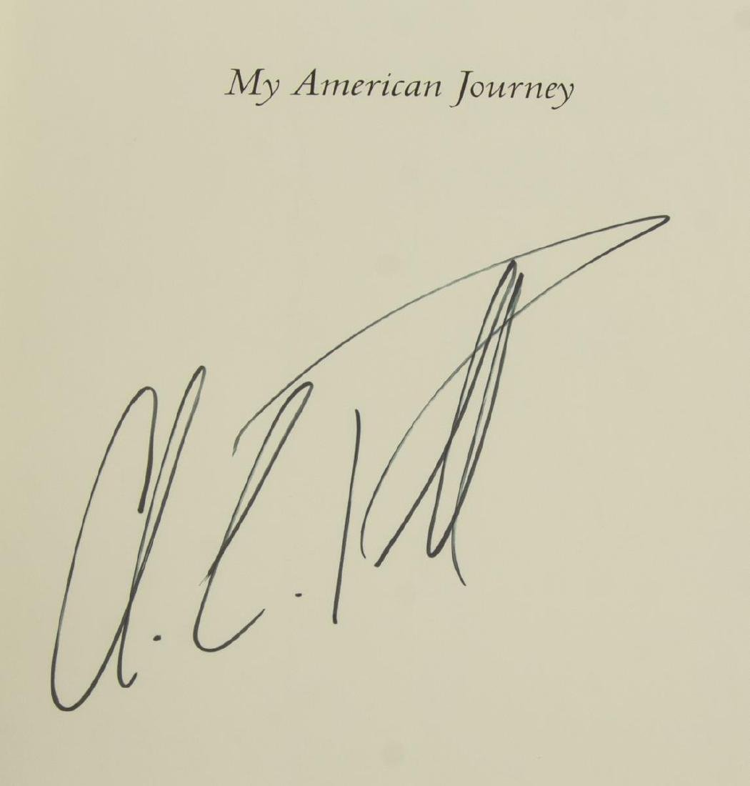 """COLIN POWELL SIGNED BOOK, """"MY AMERICAN JOURNEY"""" - 3"""