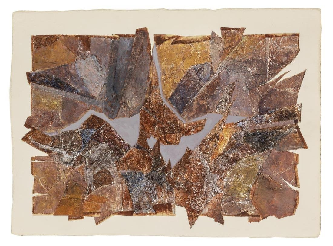(5) VERA SIMONS (D.2012) MIXED MEDIA COLLAGES - 5