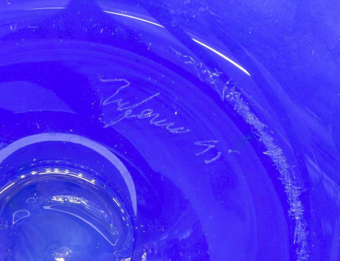 (11) COLLECTION OF STUDIO ART GLASS GOBLETS, VASES - 4
