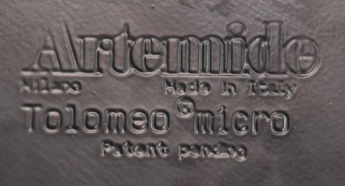 ARTEMIDE 'TOLOMEO MICRO' BLUE ALUMINUM TABLE LAMP - 3