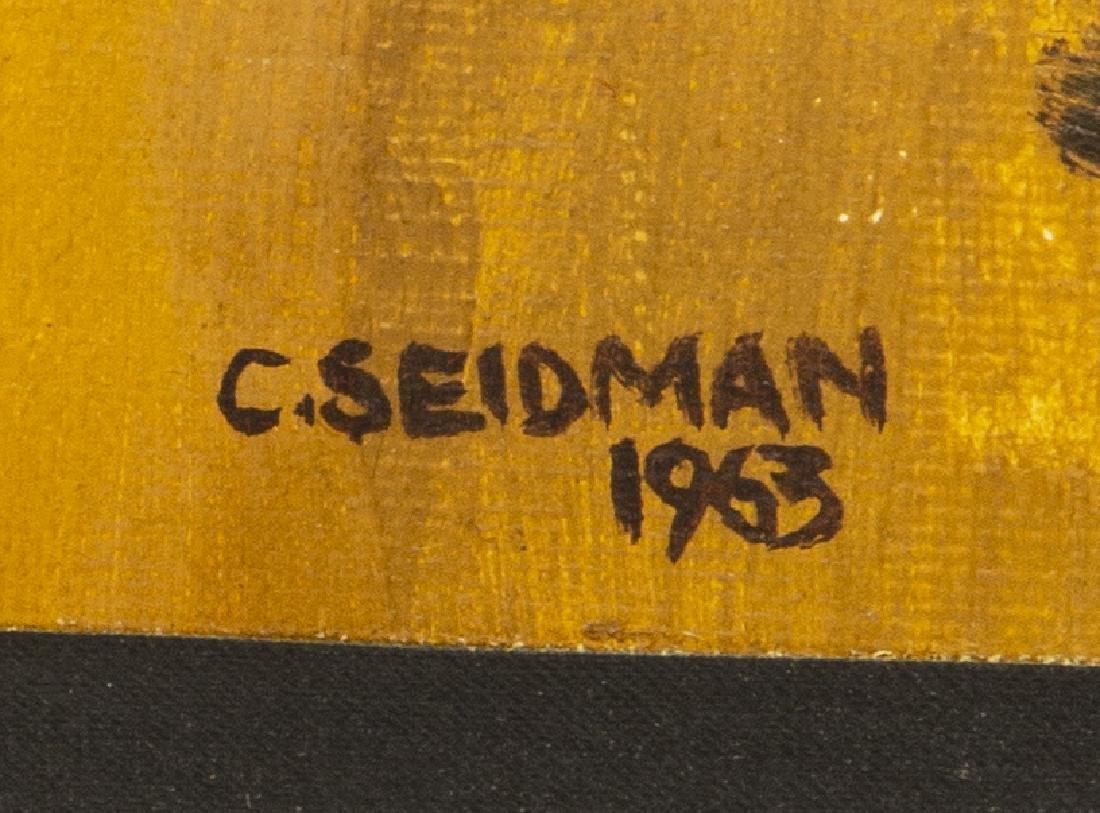 (2) CHARLES SEIDMAN (B.1942) MID-CENTURY PAINTINGS - 4