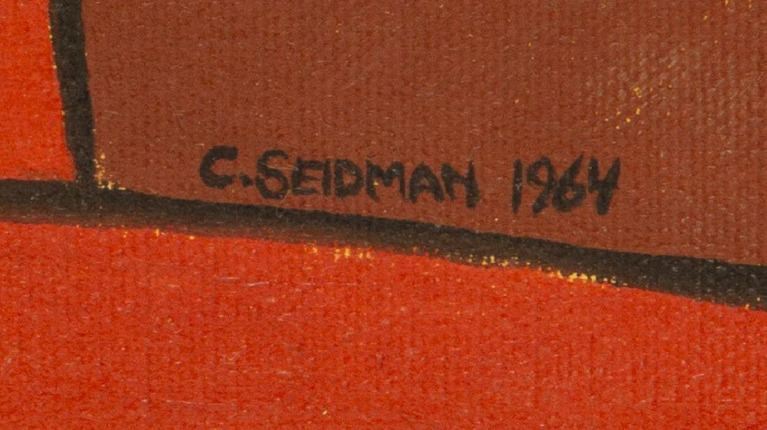 (2) CHARLES SEIDMAN (B.1942) MID-CENTURY PAINTINGS - 7