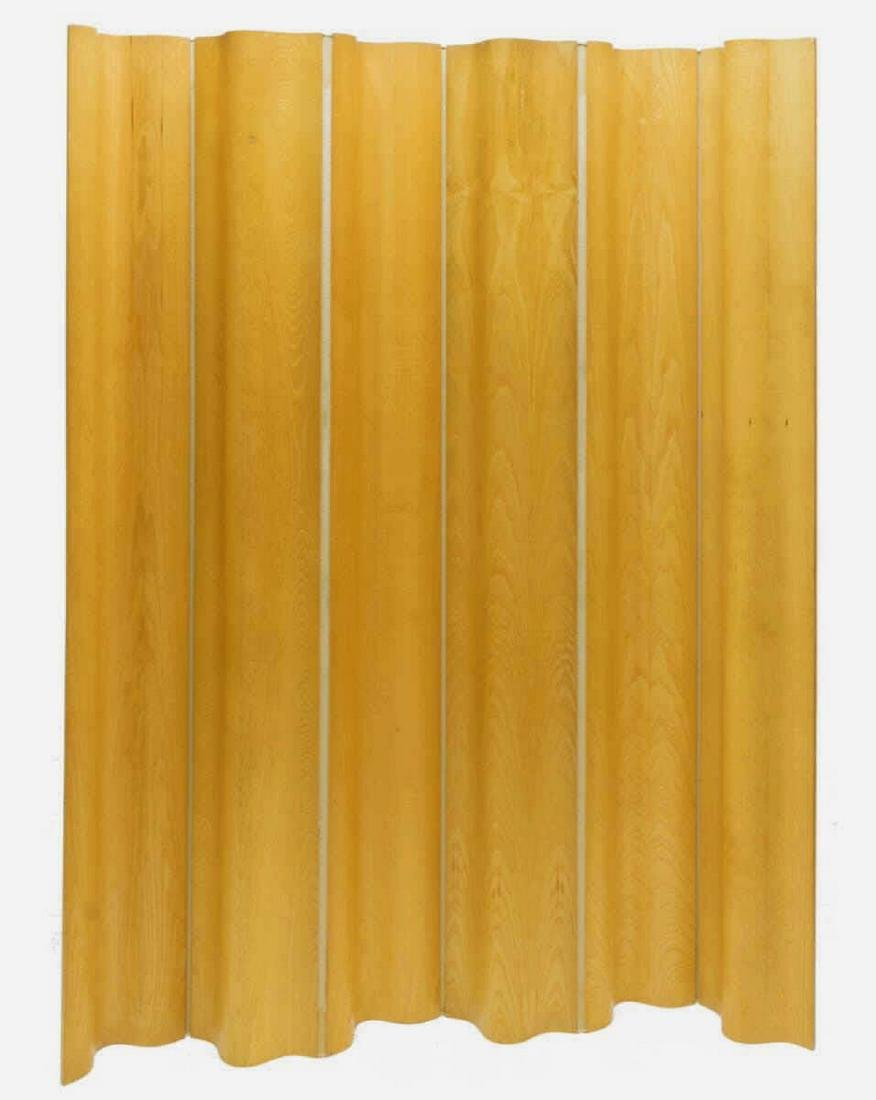 EAMES HERMAN MILLER MOLDED PLYWOOD FOLDING SCREEN