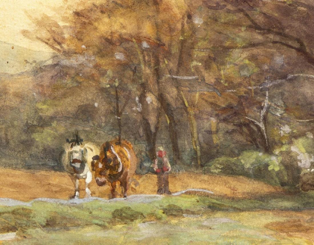 (2) LANDSCAPE PAINTINGS, JAMES SCOTT KINNEAR (D.1917) - 3