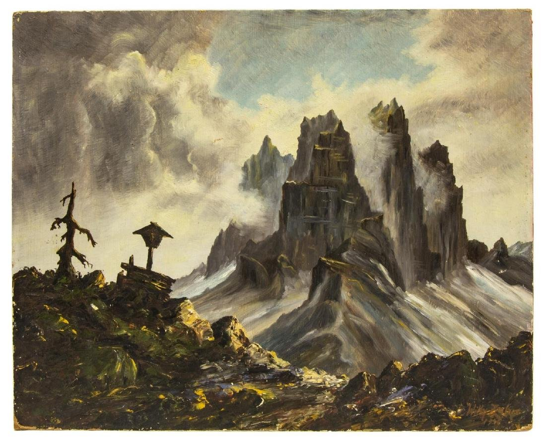 (2) LANDSCAPE PAINTINGS, JAMES SCOTT KINNEAR (D.1917) - 6