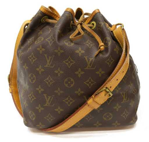 0709c9d6ad3c LOUIS VUITTON  NOE  MONOGRAM COATED CANVAS