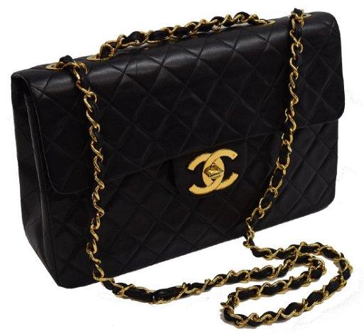 Vintage Chanel Classic Jumbo Maxi Flap Bag