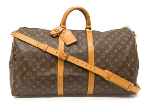 aesthetic appearance enjoy clearance price factory outlets LOUIS VUITTON 'KEEPALL 55 BANDOULIERE' DUFFLE BAG