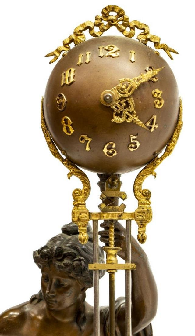 ANSONIA FORTUNA SWINGING ARM MYSTERY CLOCK - 4