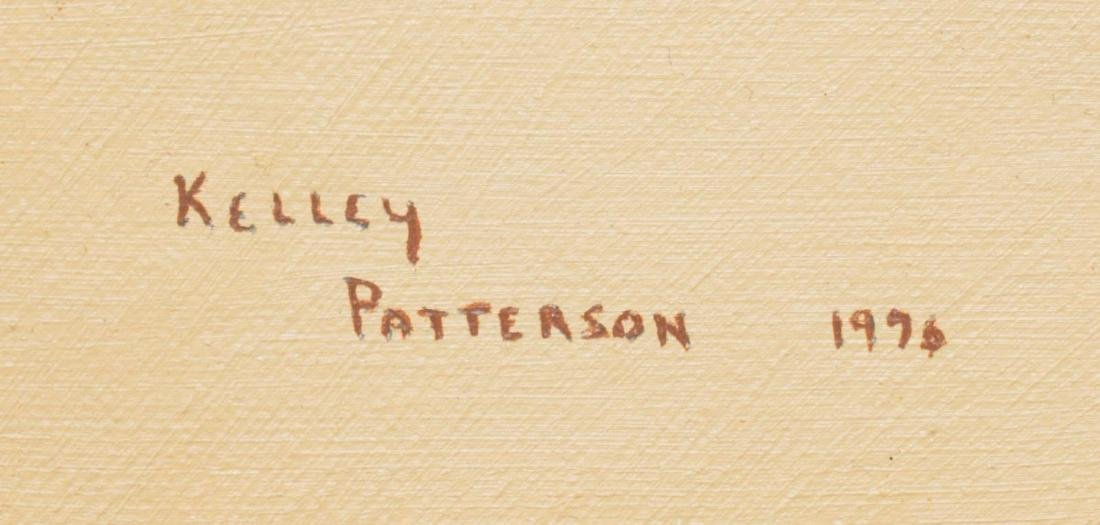 KELLEY PATTERSON (20THC.) INDIAN RIDER PAINTING - 4