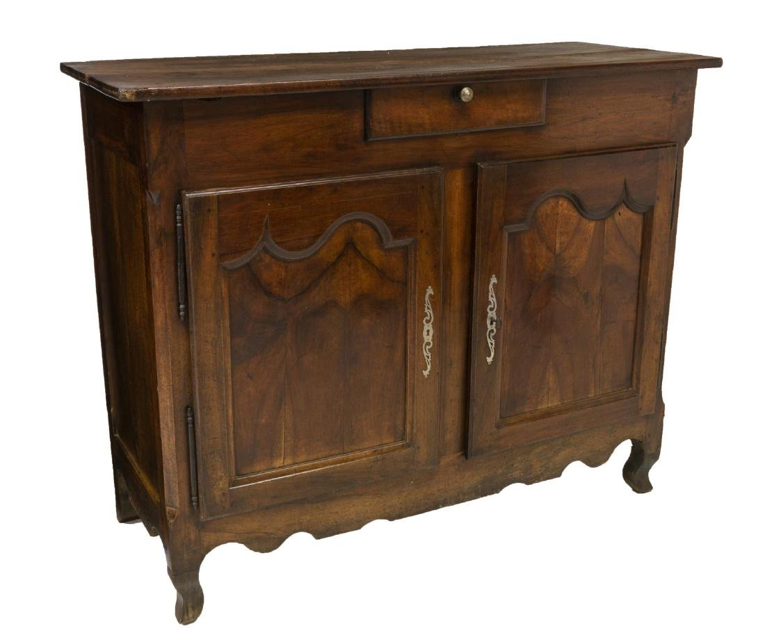 FRENCH LOUIS XV STYLE WALNUT SIDEBOARD 18TH/19TH C