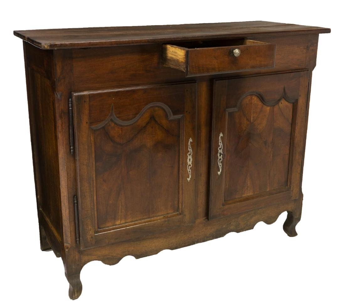 FRENCH LOUIS XV STYLE WALNUT SIDEBOARD 18TH/19TH C - 2