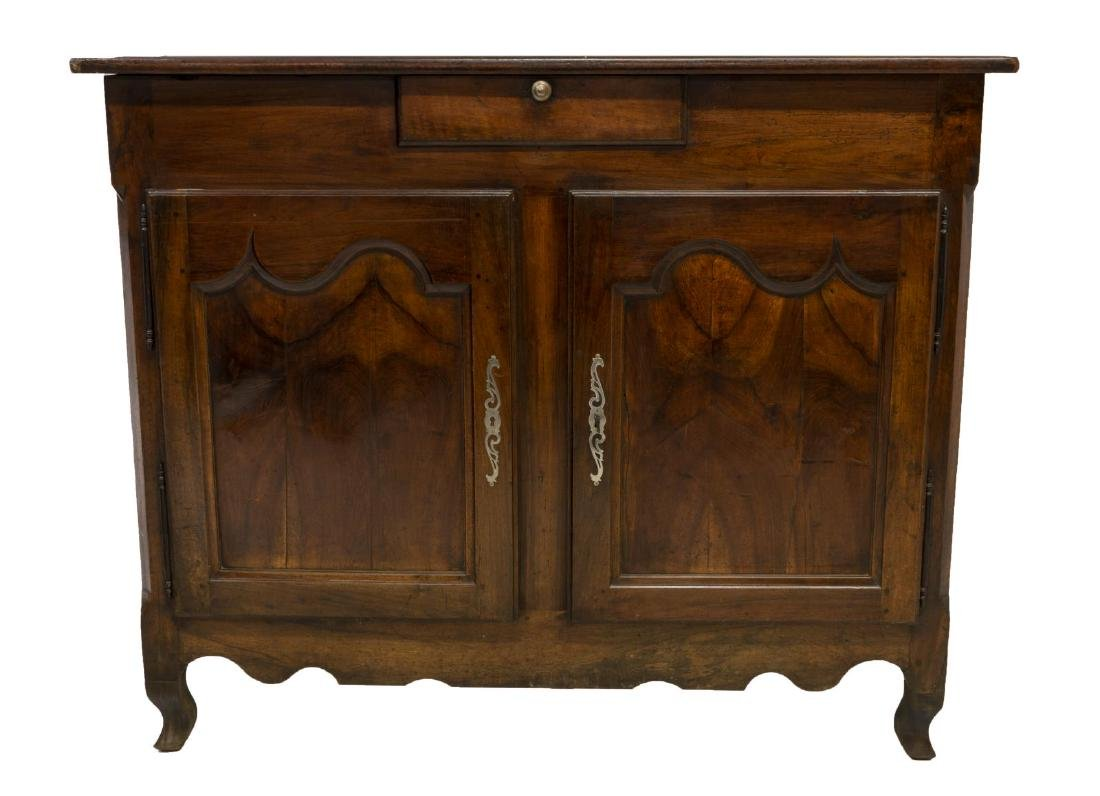 FRENCH LOUIS XV STYLE WALNUT SIDEBOARD 18TH/19TH C - 3