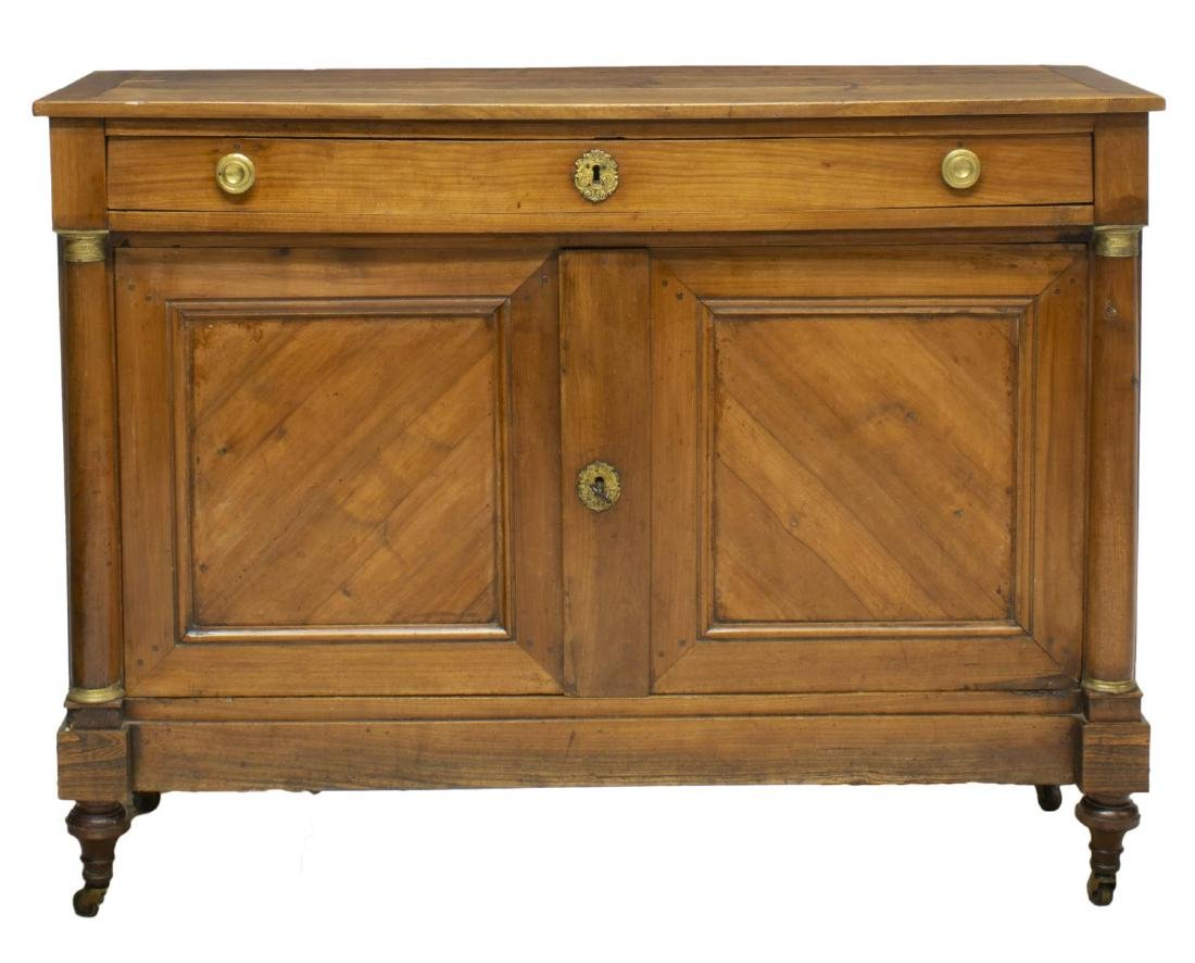 FRENCH EMPIRE STYLE FRUITWOOD SIDEBOARD - 2