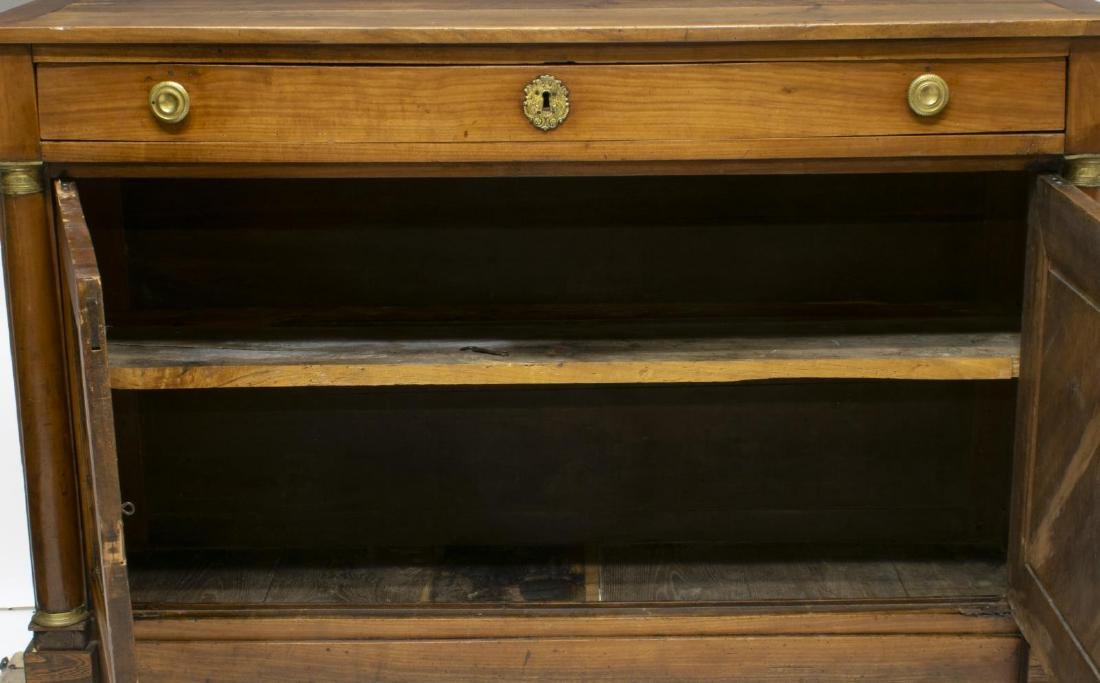 FRENCH EMPIRE STYLE FRUITWOOD SIDEBOARD - 3