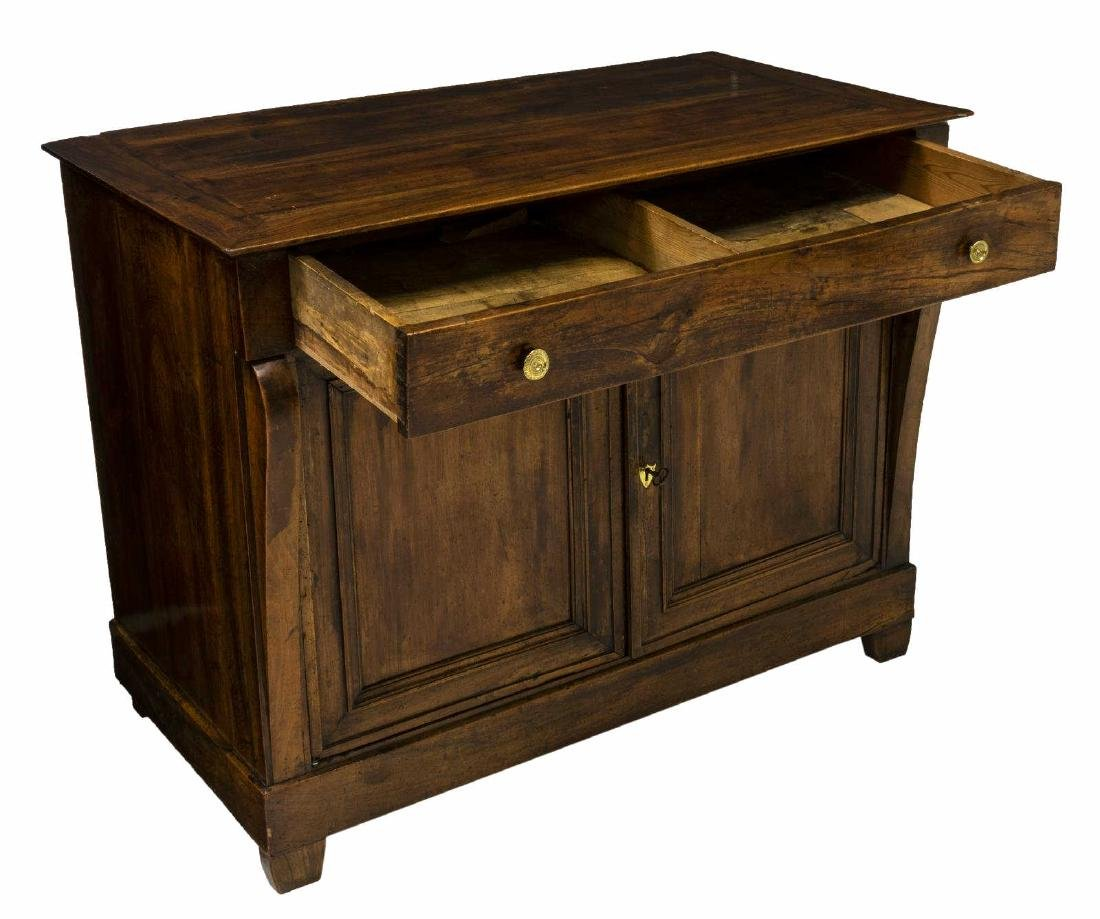 FRENCH EMPIRE STYLE WALNUT SIDEBOARD - 2