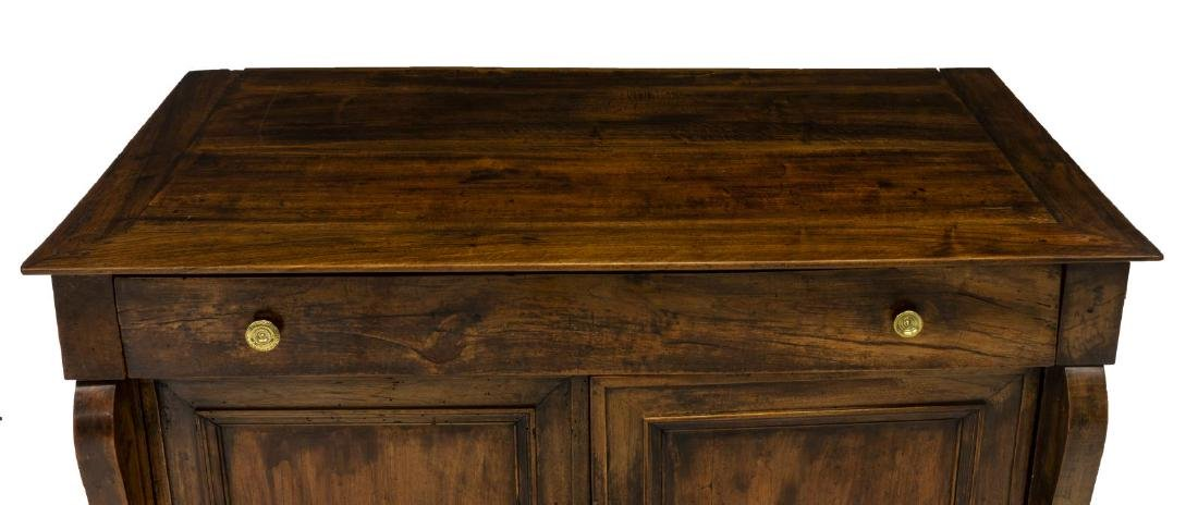 FRENCH EMPIRE STYLE WALNUT SIDEBOARD - 4