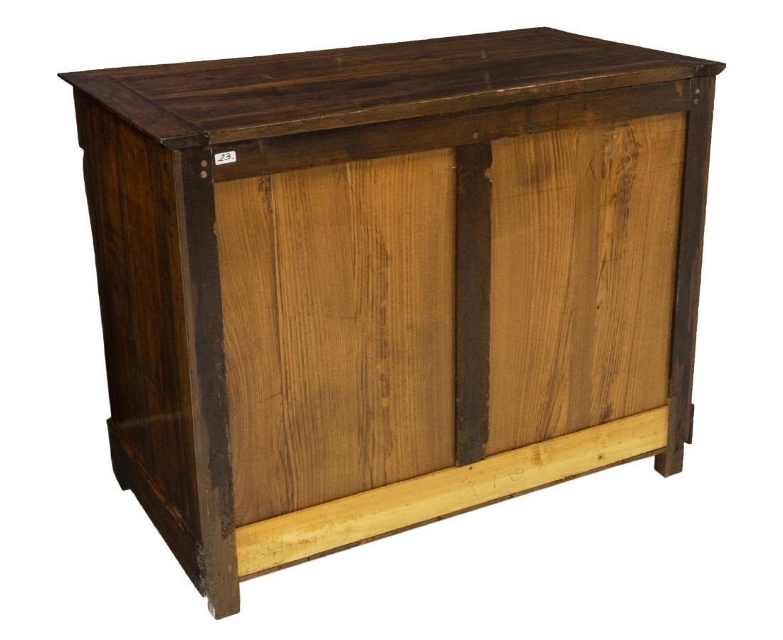 FRENCH EMPIRE STYLE WALNUT SIDEBOARD - 5