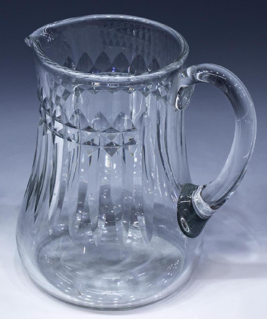 BACCARAT 'PICCADILLY' CRYSTAL DRINKS PITCHER