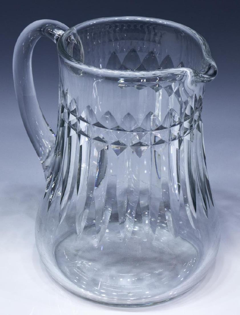 BACCARAT 'PICCADILLY' CRYSTAL DRINKS PITCHER - 2