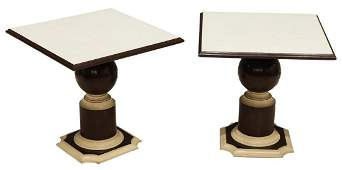 PR FRENCH MODERN LAMINATETOP SIDE TABLES