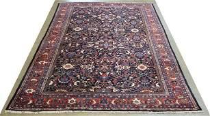 HANDTIED PERSIAN MAHAL RUG 1811 X 116