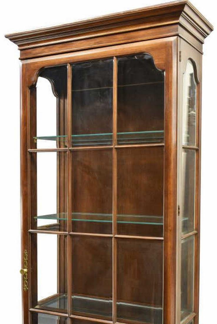 LIGHTED GLASS PANE DISPLAY CABINET - 2