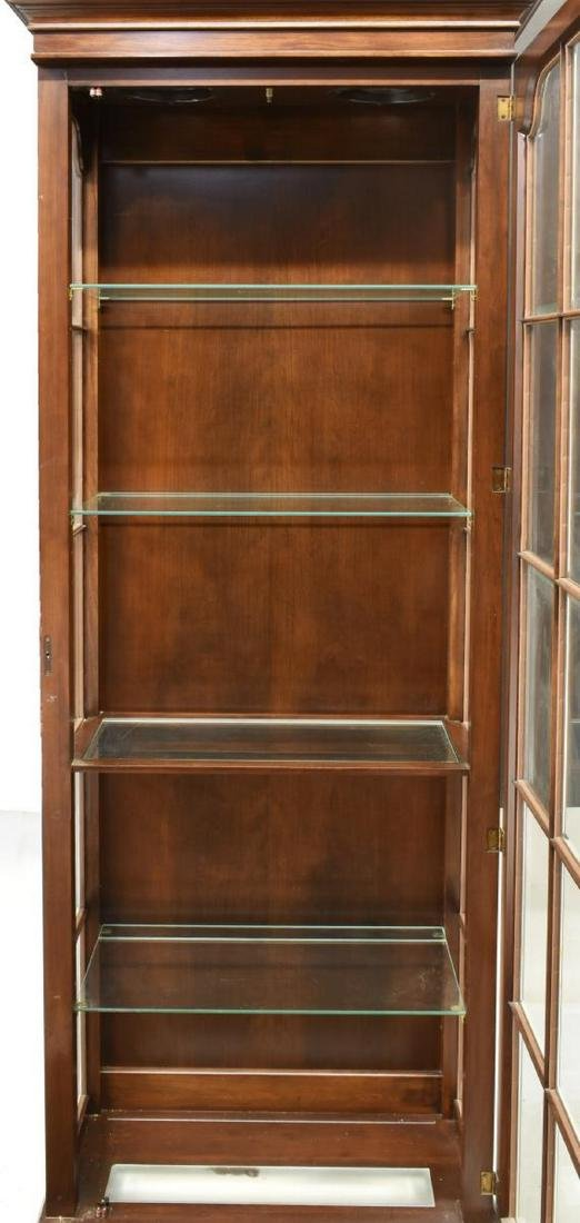 LIGHTED GLASS PANE DISPLAY CABINET - 3
