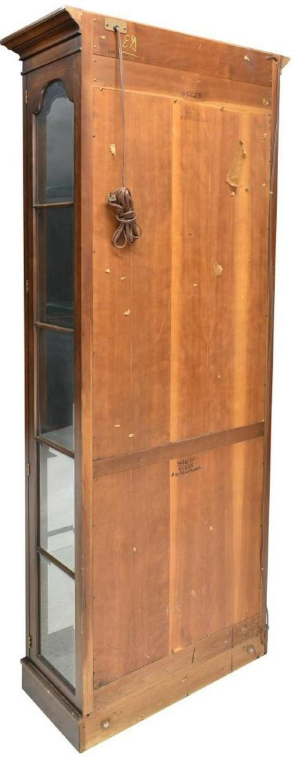 LIGHTED GLASS PANE DISPLAY CABINET - 4