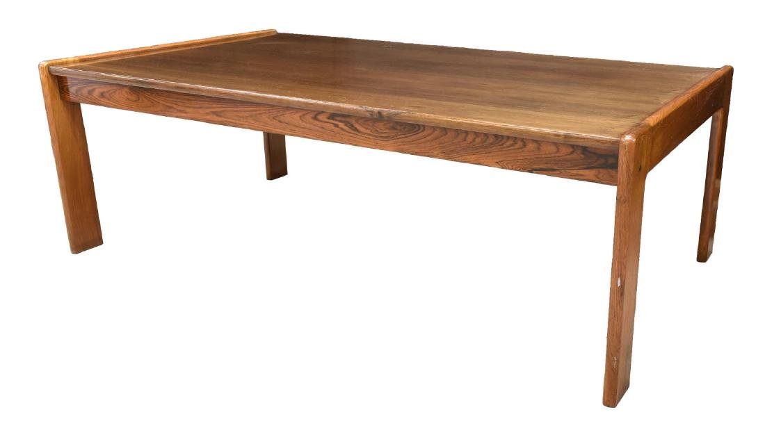 DANISH MID-CENTURY BRAMIN ROSEWOOD COFFEE TABLE