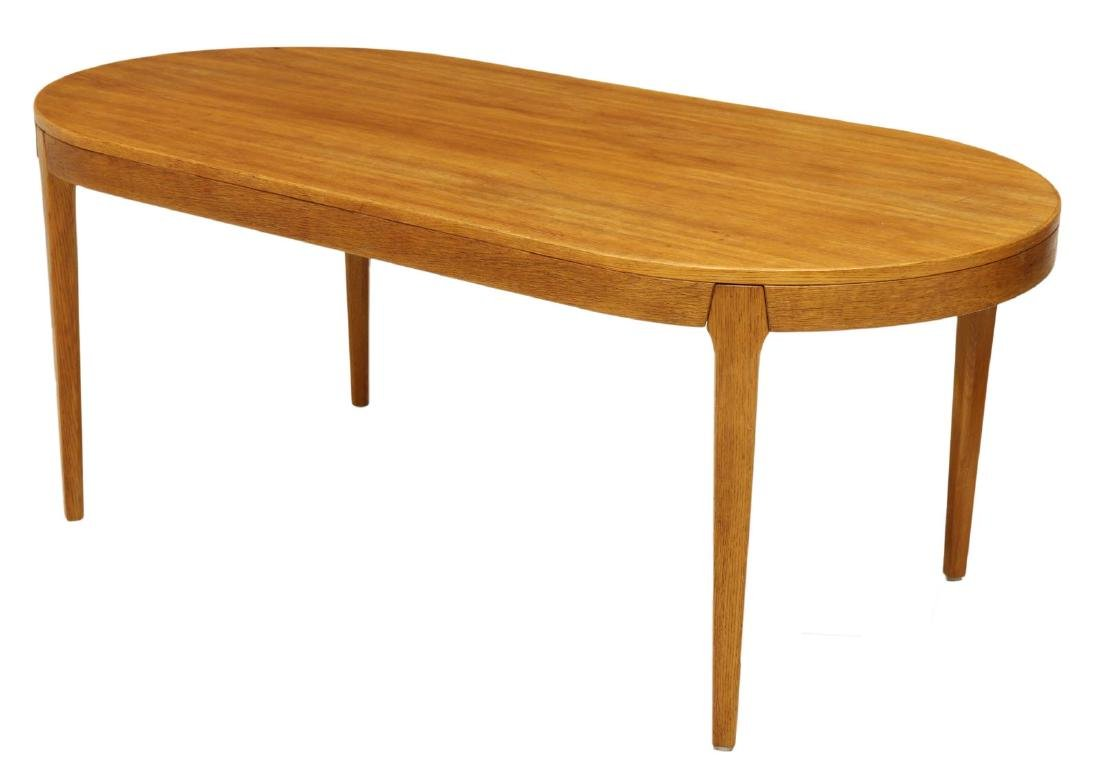 DANISH MID-CENTURY MODERN OVAL TABLE