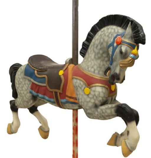 ALLAN HERSCHELL TROJAN JUMPER CAROUSEL HORSE