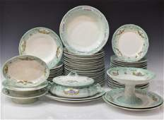 (68) BELGIAN BOCH FRERES WATER LILY DINNER SERVICE