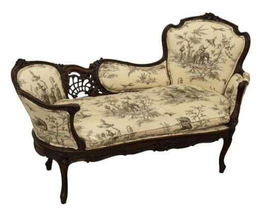 Swell French Louis Xv Style Canape Settee Chaise Lounge Alphanode Cool Chair Designs And Ideas Alphanodeonline