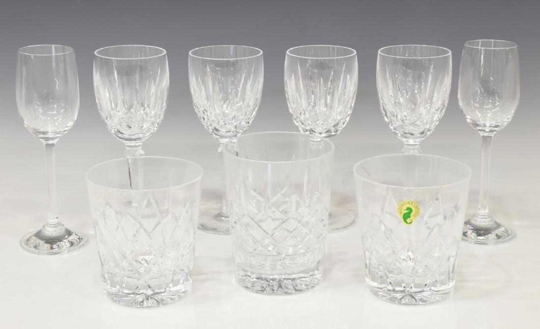 (9) COLLECTION WATERFORD CRYSTAL & GLASS STEMWARE
