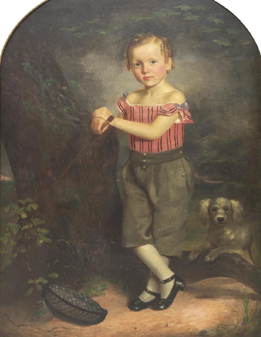 ENGLISH SCHOOL FULL-LENGTH PORTRAIT YOUNG BOY